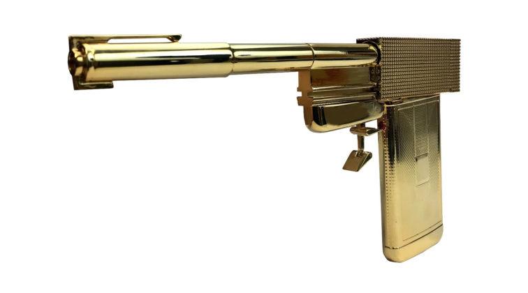lato sinistro della pistola di francisco scaramanga