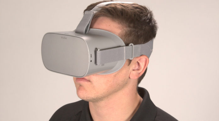 formazione per le forze dell'ordine: realtà virtuale con l'oculare oculus go