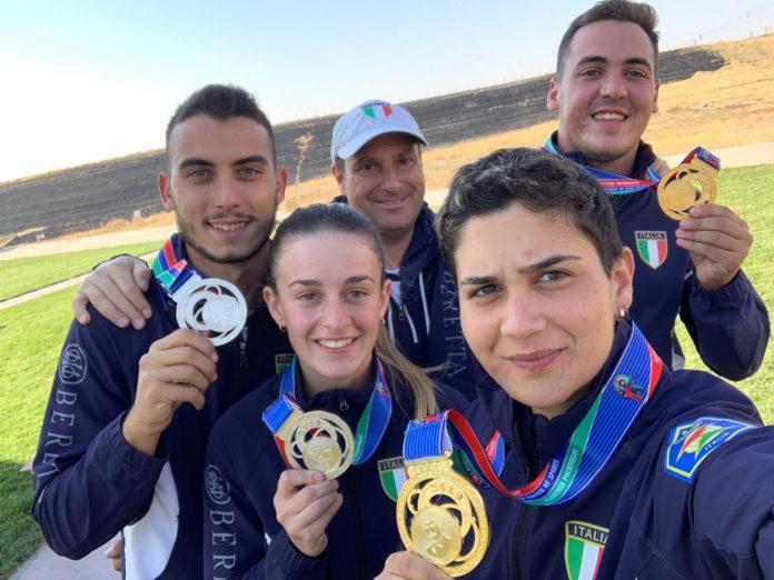 Sei medaglie per la nazionale di fossa olimpica nel 18° Gran Prix del Kazakistan