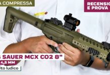 Sig Sauer Mpx Air Rifle cal. 4,5 mm, la prova sul campo
