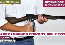 Umarex Legends Cowboy Rifle, la prova in poligono