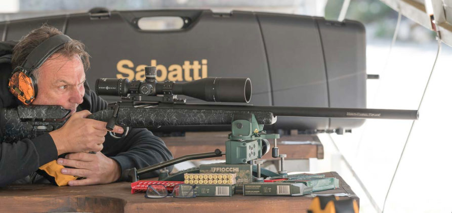 test della carabina bolt action sabatti tactical evo