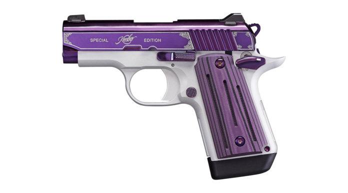 Kimber Micro 9 Amethyst, pistola microcompatta viola