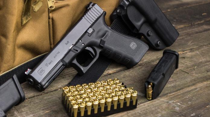 Pistole calibro 9x19 Parabellum in Italia, glock con munizioni