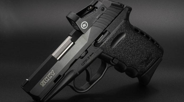 Sccy Cpx Red Dot, la pistola con il punto rosso