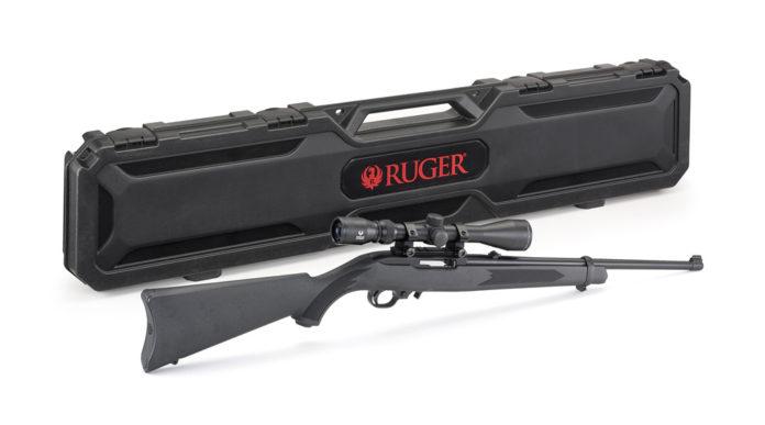 carabina sportiva con ottica: Ruger 10/22 con cannocchiale Viridian Eon 3-9x40