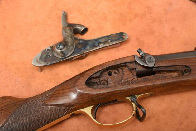 batteria del fucile ad avancarica Pedersoli Whitworth