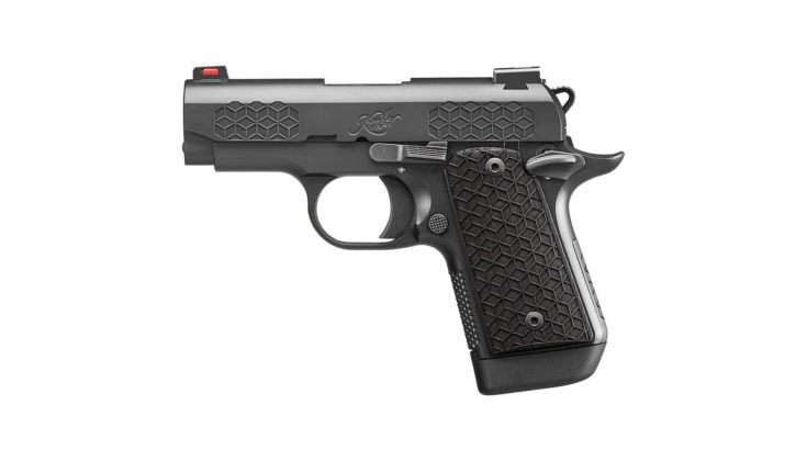 fianco sinistro della pistola kimber micro 9 triari
