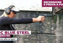 ADC Blue Steel calibro 9x21, la prova a fuoco
