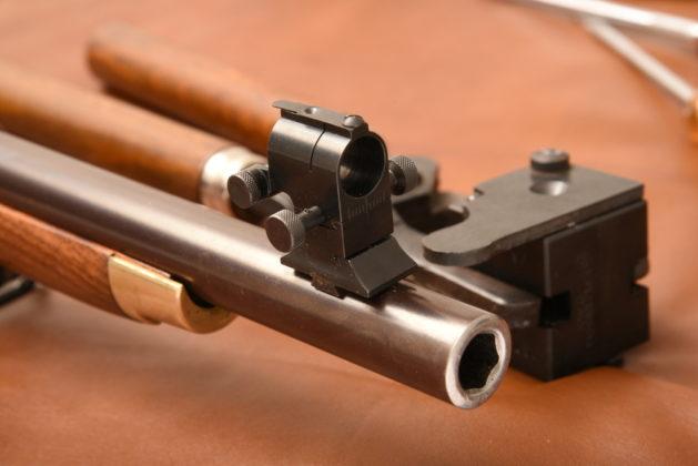mirino del fucile Whitworth di Pedersoli