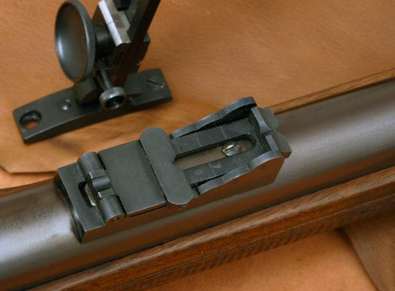 tacca di mira del fucile Whitworth di Pedersoli