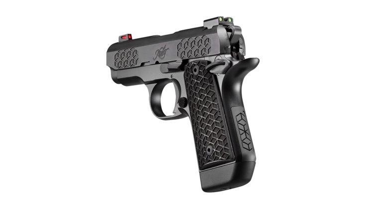 trequarti posteriore della pistola kimner micro 9 triari