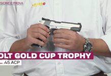 Colt Gold Cup Trophy cal. .45 Acp, la prova a fuoco