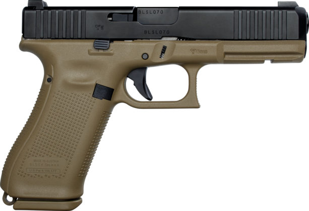 fianco destro della pistola glock g17 gen5