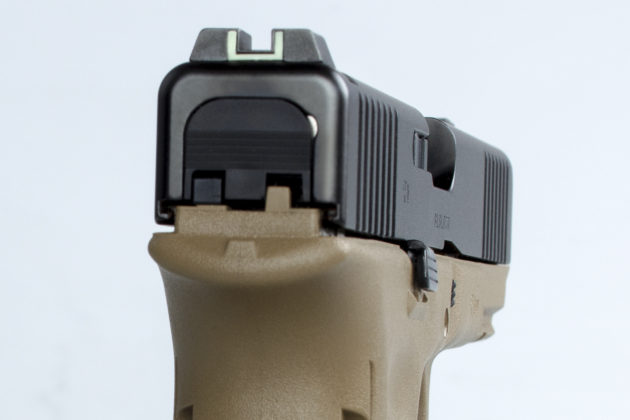 mira della pistola glock g17 gen5 per le forze armate francesi