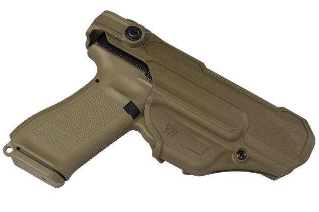 nella fondina, la pistola glock g17 gen5 per le forze armate francesi