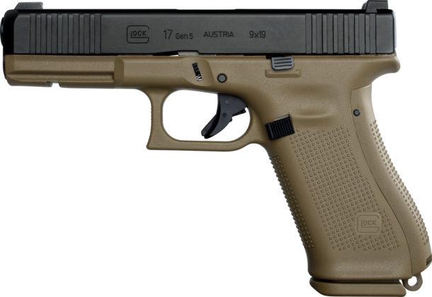 pistola glock g17 gen5 con backstrap