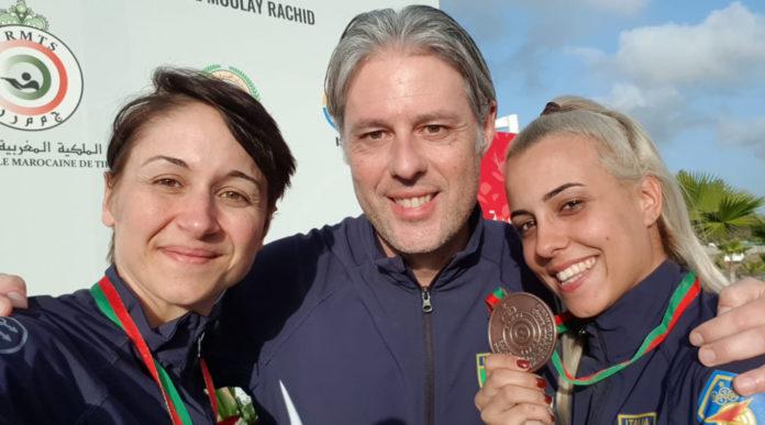 Due medaglie in Marocco per la nazionale italiana di skeet
