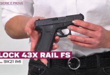 Glock 43X Rail Fs, la prova a fuoco