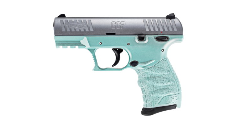 Angel Blue 9 mm Walther CCP M2