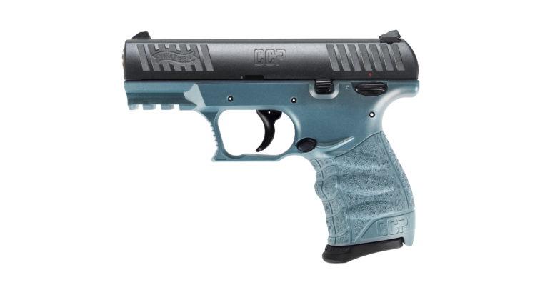 Walther CCP M2, la pistola per il porto occulto ora sfoggia tre nuovi colori: modello titanium
