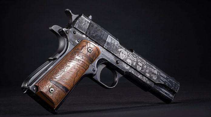 Auto Ordnance Revolution 1911, la pistola custom che celebra la rivoluzione americana