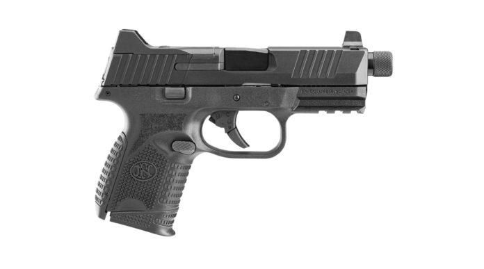 Fn 509 Compact Tactical Blk, la pistola compatta con quattro diversi caricatori