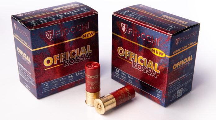 Fiocchi Official Rossa, la nuova munizione per il tiro a volo