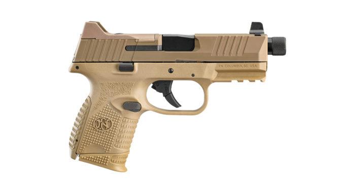 Fn 509 Compact Tactical, la pistola con caricatore maggiorato anche in flat dark earth