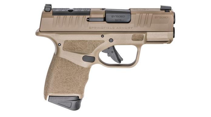 Springfield Armory Hellcat, la pistola microcompatta con supercaricatore in una nuova colorazione