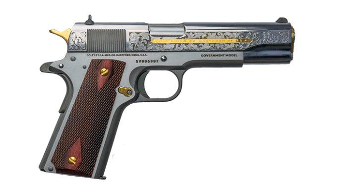 Colt Heritage, pistola 1911 con finitura acciaio