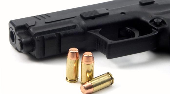 denuncia di munizioni: pistola con tre proiettili