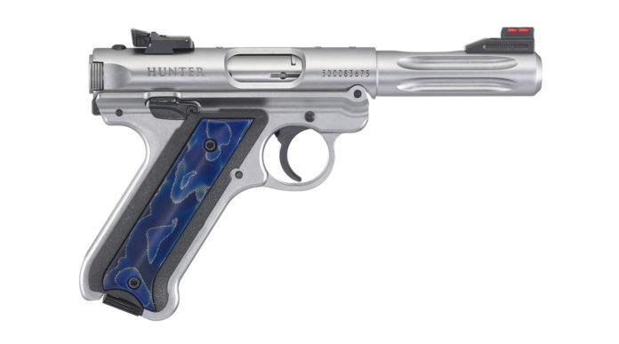 Ruger Mark IV Hunter 40172, la pistola .22 LR con guancette tridimensionali