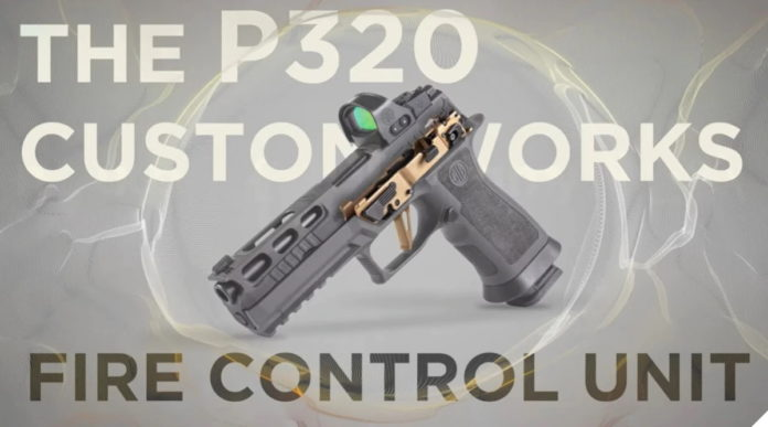 Sig Sauer P320 Custom Works Fire Control Unit, la base per la pistola custom