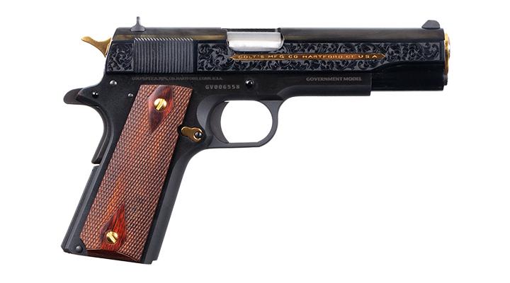 variante blue della pistola Colt Heritage, sviluppata in collaboraione con Davidson