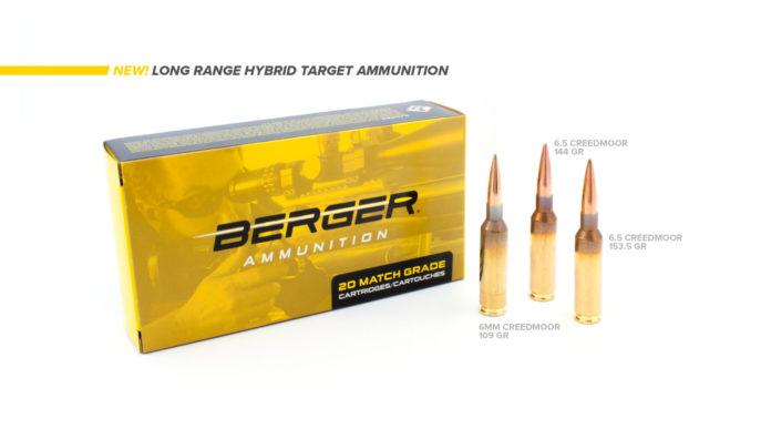 Berger Long Range Hybrid Target, le munizioni per il tiro a lunga distanza in due calibri ulteriori