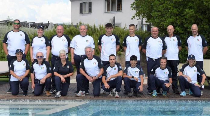 Campionato del mondo di fossa universale: nazionale italiana di fossa universale