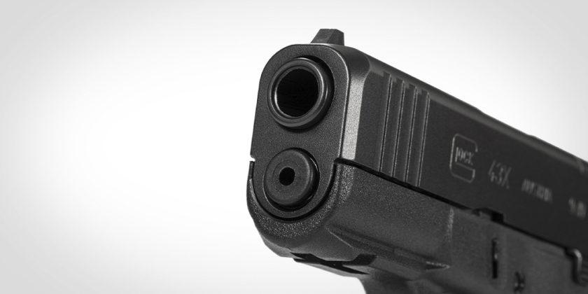 canna della glock g43x mos