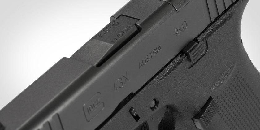 finitura della glock g43x mos