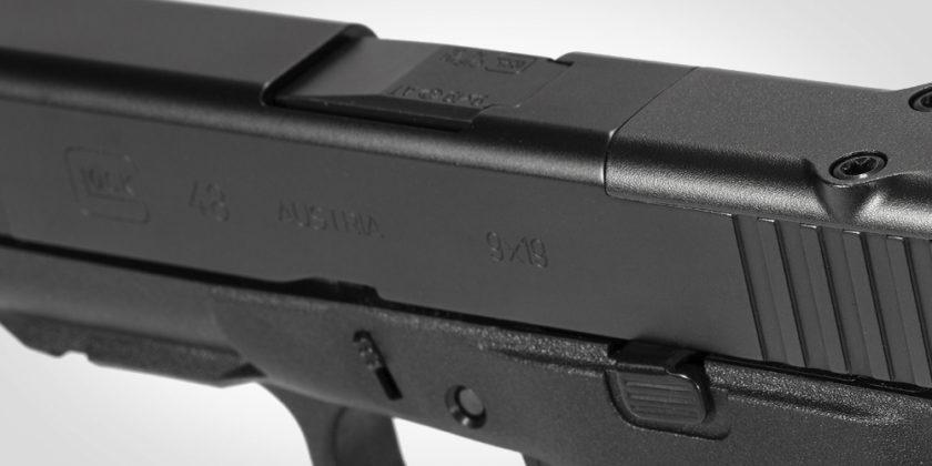 finitura dlc della pistola g48 mos