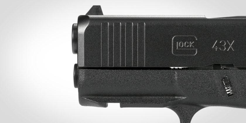 front serration anteriori della glock g43x mos