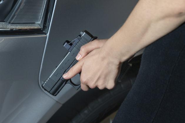 impugnata, la pistola glock g43x