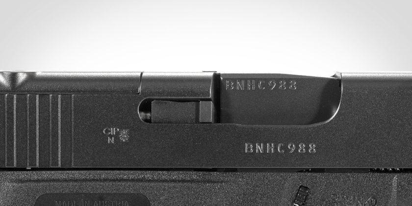 indicatore di colpo camera della glock g43x mos