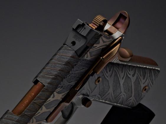 beavertail di pistola da collezione 10th anniversary cabot guns