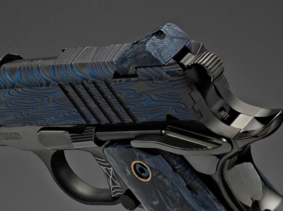 cane di pistola da collezione 10th anniversary cabot guns