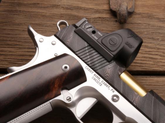 ottica di pistola da collezione 10th anniversary cabot guns