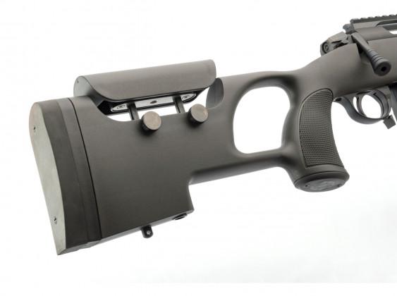 regolazione del calcio della carabina bolt action sabatti urban sniper