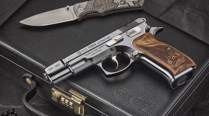 Cz 75 Tobruk, la pistola da collezione in edizione limitata