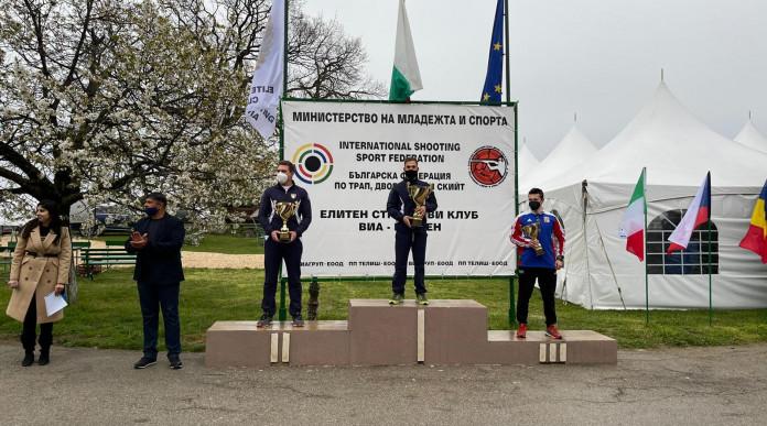 Gare internazionali di tiro a volo, tre medaglie azzurre in Bulgaria