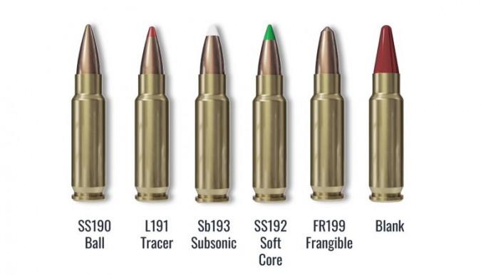 Il calibro 5,7x28mm riconosciuto come calibro Nato